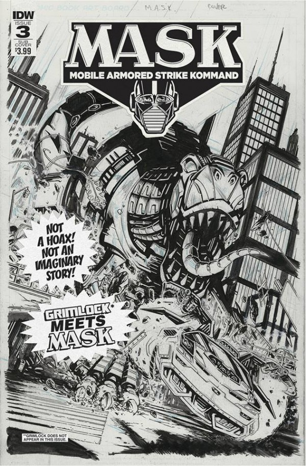 M.A.S.K. comics
