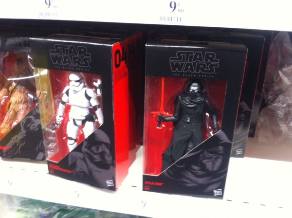 PROMO figurines pas cheres Star Wars Black Series 15cm Le Réveil de la Force à 9,99€