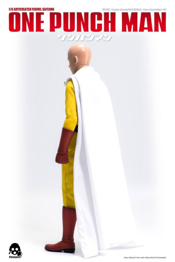 ONE–PUNCH MAN 1/6 Articulated Figure: SAITAMA pre-order info.