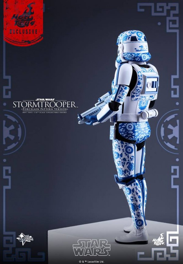 Star Wars – 1/6th scale Stormtrooper (Porcelain Pattern Version)