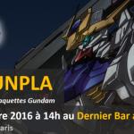 Gundam : Atelier Gunpla au Dernier Bar avant la fin du Monde
