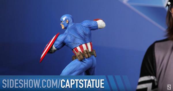 Captain America Avengers Assemble Statue Collection