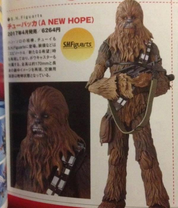 Star Wars S.H.Figurarts Anakin Skywalker & Chewbacca