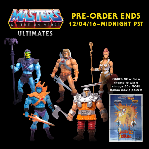 Masters Of the universe classics Ultimates super7