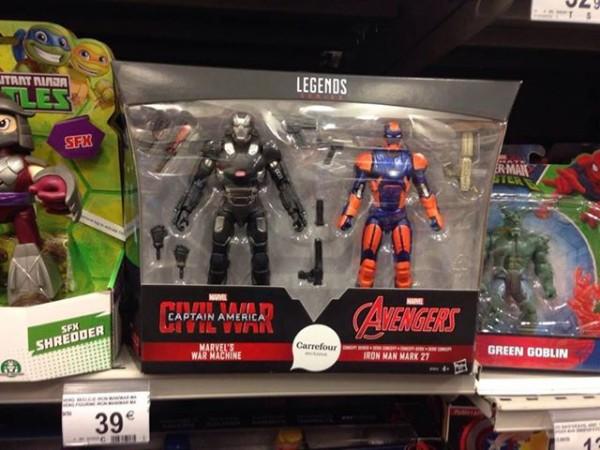 Marvel Legends Exclu Carrefour :