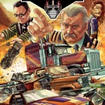 La couverture du comic M.A.S.K. Annual