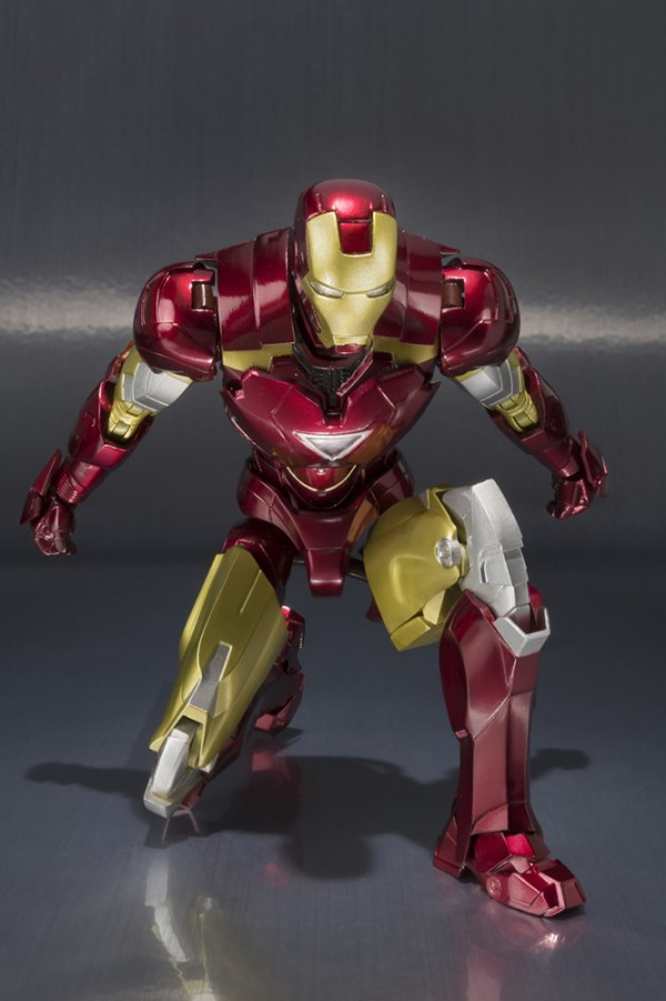 S.H.Figuarts IRON MAN MARK VI et HallS.H.Figuarts IRON MAN MARK VI et Hall of Armor Set of Armor Set