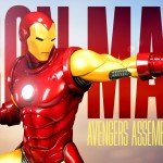 Iron Man et Captain America  Avengers Assemble Statue Collection