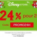 Bon plan : -24% pour 24h sur DisneyStore.fr