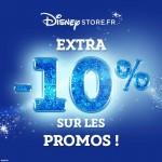 Bon plan -10% de réduction supplémentaire sur DisneyStore.fr