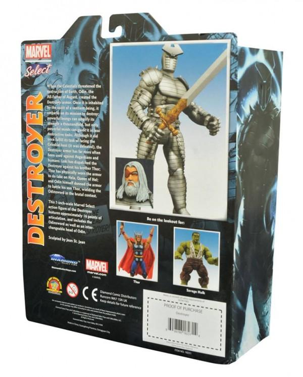 Marvel Select Destroyer Odin