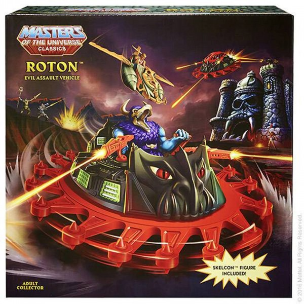 Roton et Skelcon Masters of the Universe Classics chez Mattel