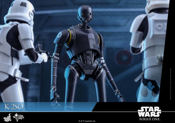 Rogue One: A Star Wars Story 1/6th scale K-2SO Figure.