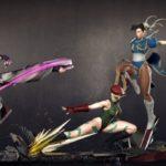 STREET FIGHTER : trois Statuettes par Kinetiquettes