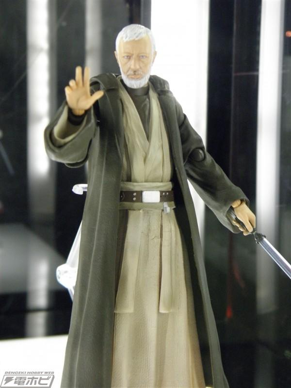 S.H.Figuarts Star Wars : Padmé, FN-2187, Han Solo TFA, Ben kenobi