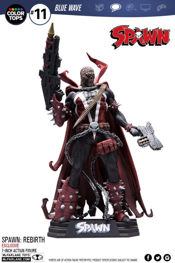 SPAWN: REBIRTH, TOYS 'R' US EXCLUSIVE