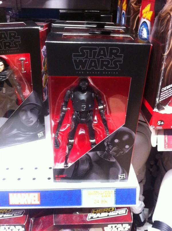 Star Wars black Series Rogue One