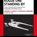 Rogue One standing by : 3 jours événements au MK2 Bibliothèque avec Star Wars Universe
