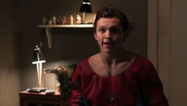 des jouets Star Wars dans Spider-Man: Homecoming