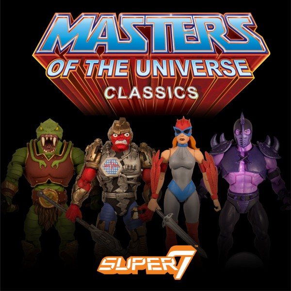 New Masters of the Universe Classics Figures SUPER7 2017