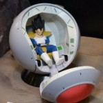 Review FR - Figure-rise - Saiyan Space Pod