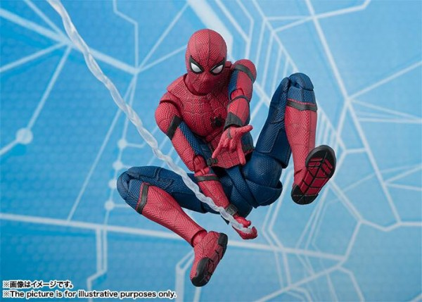 Official SH Figuarts Spider-Man: Homecoming Spidey