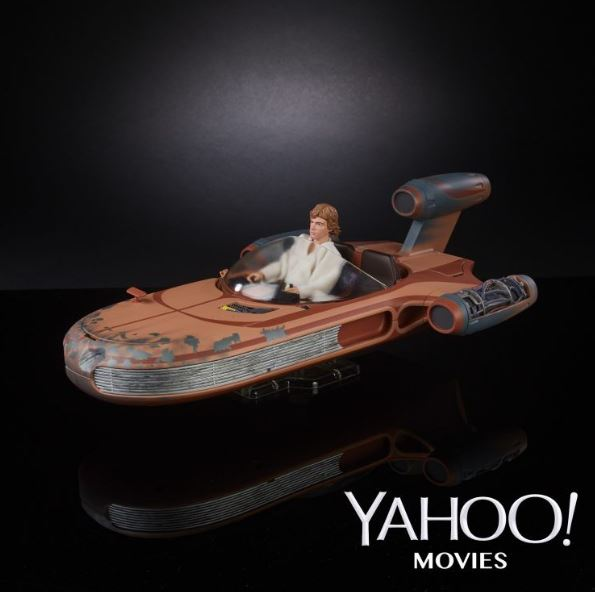 Star Wars : Luke Skywalker-Landspeeder Black Series