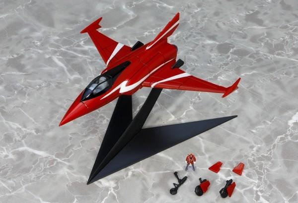 EX Gokin Gatchaman Mecha Collection Series - Red Impulse Repaint Version