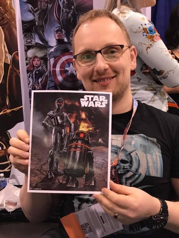 Star Wars Celebration exclusives Triple Zero and BT-1