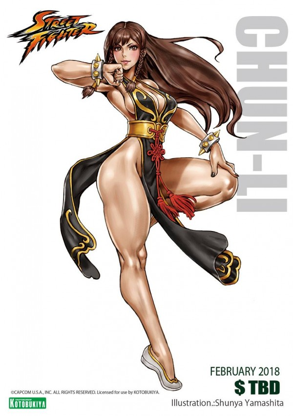 Chun-Li Battle Costume - Bishoujo