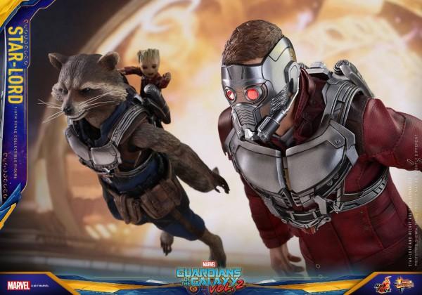 GOTG Vol. 2  : Star-Lord  par Hot Toys