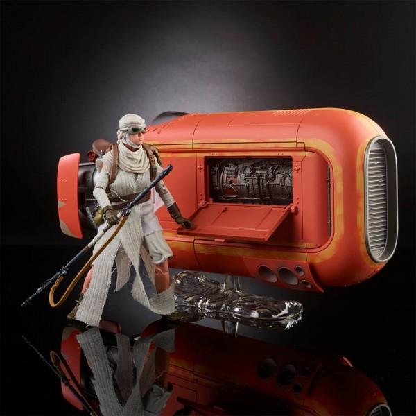 Star Wars : Rey & Speeder Black Series