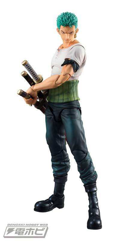 Variable Action Heroes Roronoa Zoro PAST BLUEVer.
