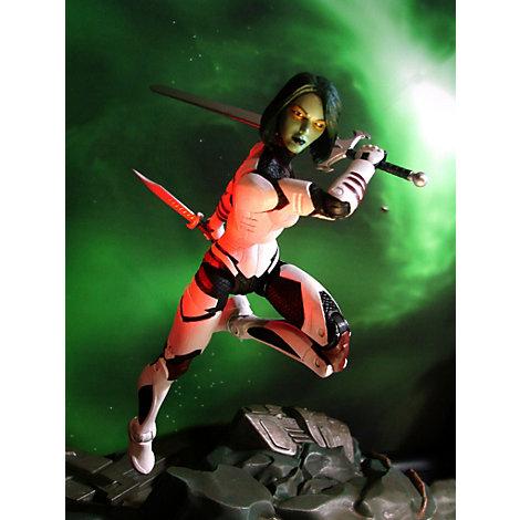 Garmora et Rocket Raccoon avec socle encastrable Marvel Select Les Gardiens de la Galaxie