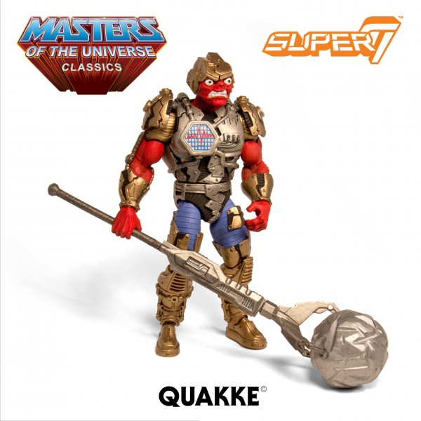 Quakke New Masters of the Universe Classics Figures Pre-Order
