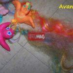 Tutorial : Restaurer une crinière d'animal à coiffer