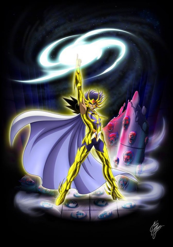 HQS Saint Seiya  deathmask du Cancer