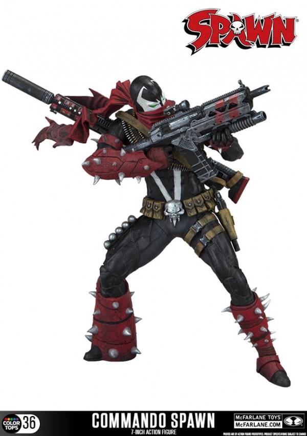 McFarlane Toys's Commando Spawn Figure