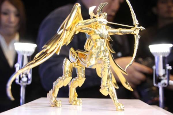 saint seiya chevalier du zodiaque armure d'Or 2kg or pur
