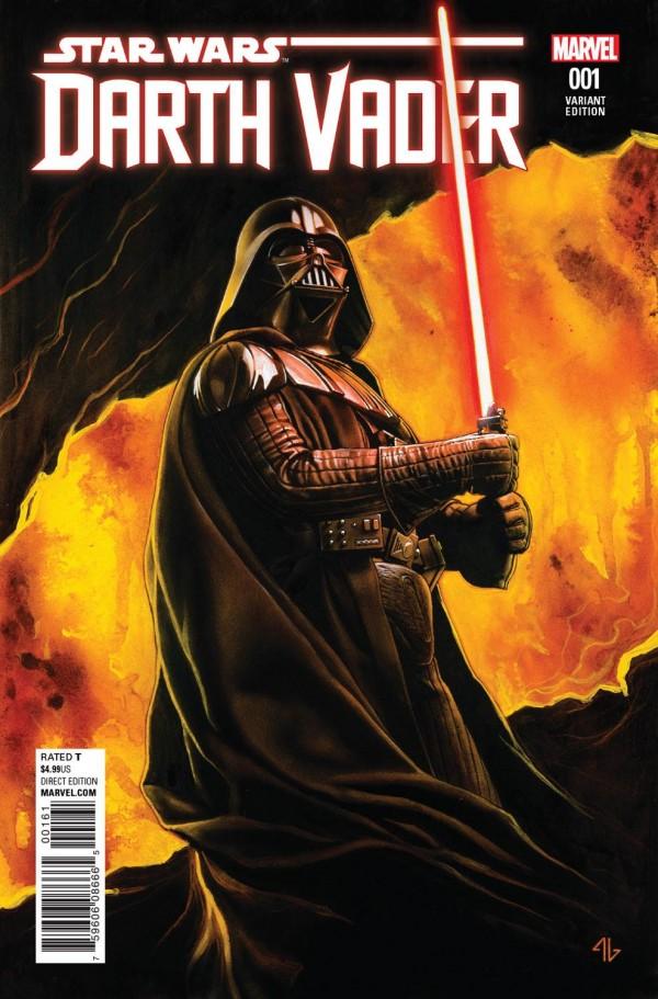 Comic Star Wars Darth Vador vader