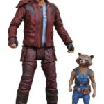 1er image de Rocket Raccoon et Star -lord Marvel Select