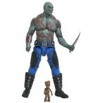 1er image de Drax et Baby Groot Marvel Select