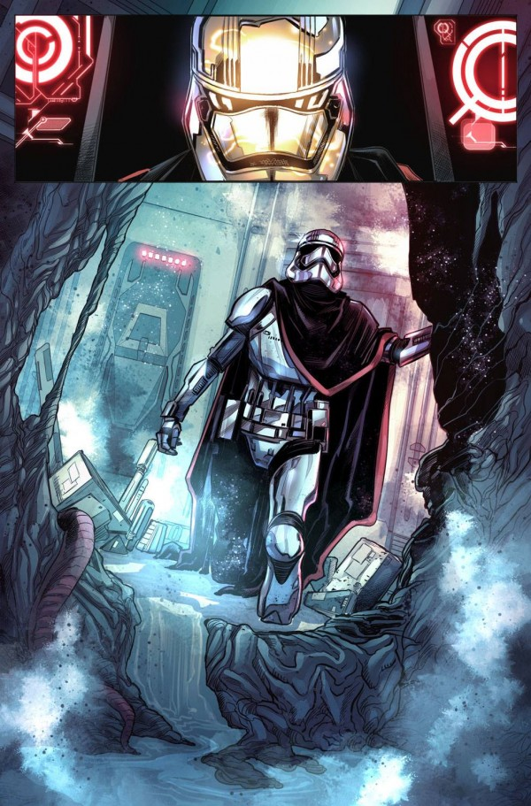 comics Marvel Star Wars Captain Phasma the last jedi