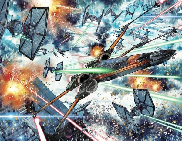 comics Marvel Star Wars Captain Phasma the last jedi