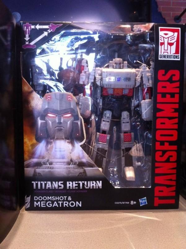 Transformers:  Optimus Prime et Megatron