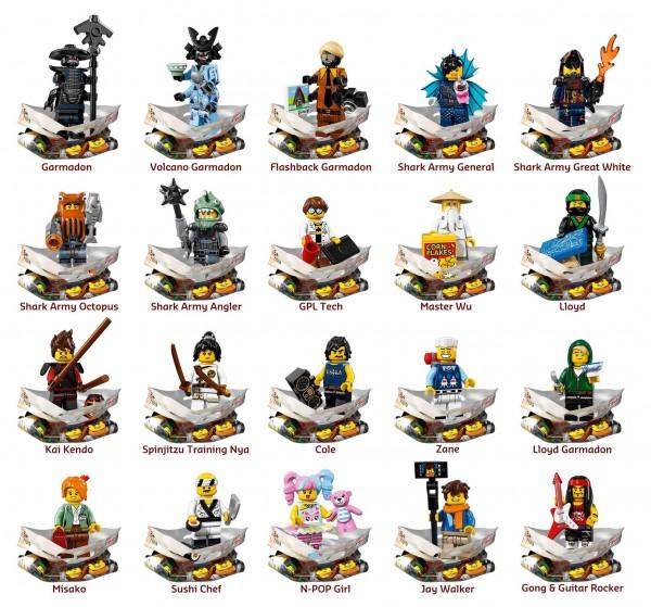 The LEGO Ninjago Movie - des set et des mini figurines