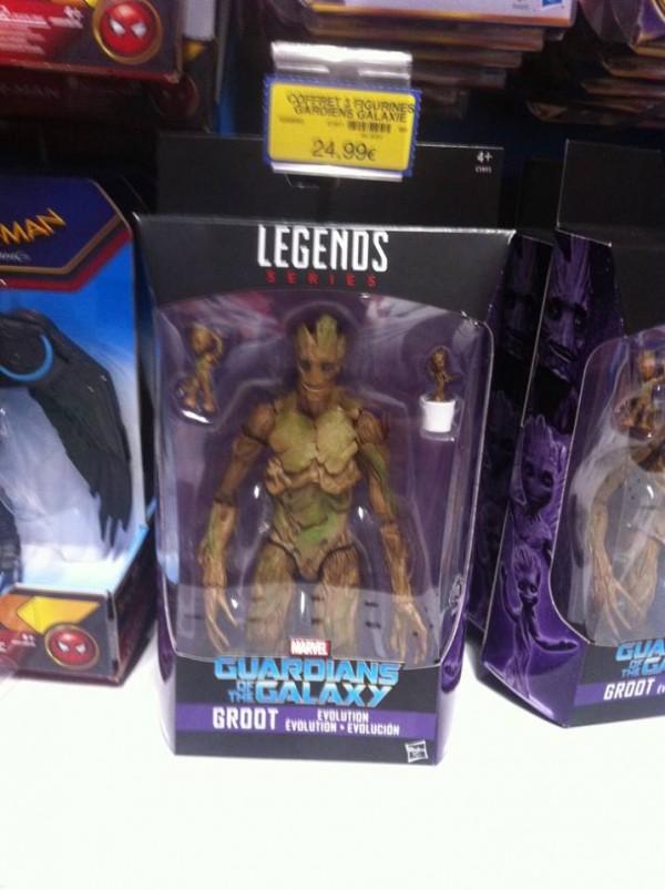 Marvel Legends Guardians Of The Galaxy Vol2  L'exlu Groot Toys R Us