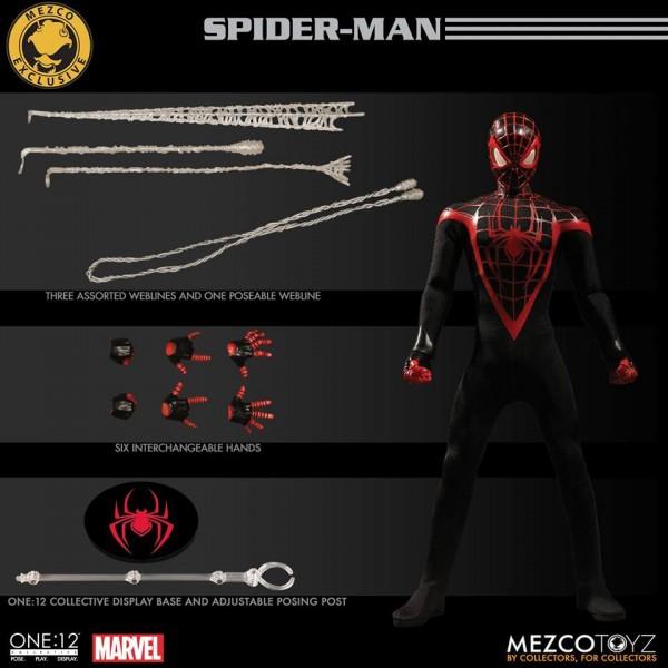 SDCC Mezco One:12 Collective Miles Morales Spider-Man