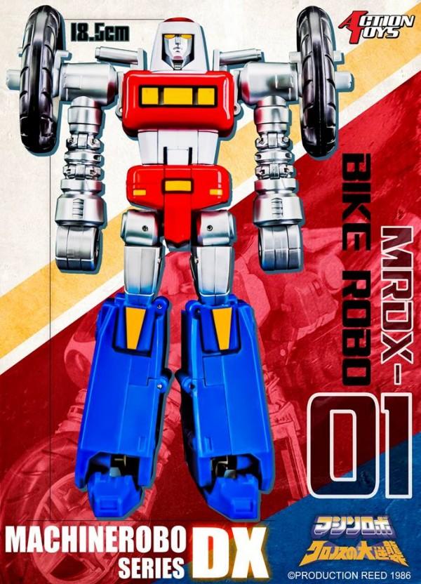 MRDX-01 Bike Robo