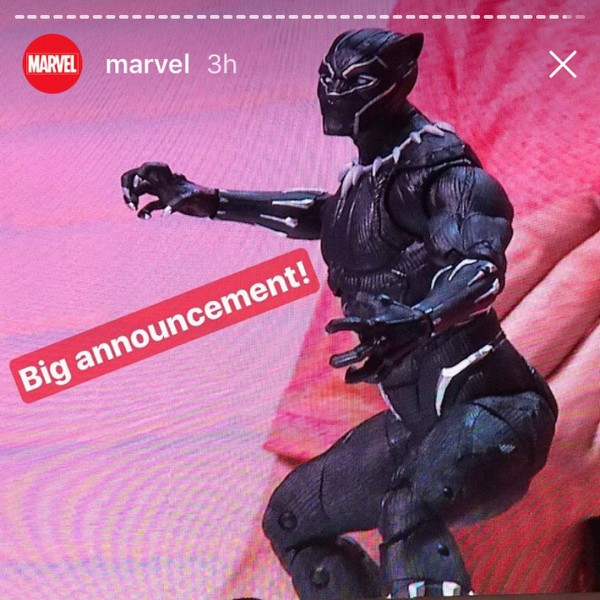 Marvel Legends Black Panther pour 2018